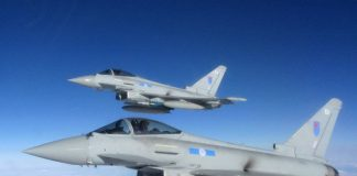 Royal Air Force Typhoons