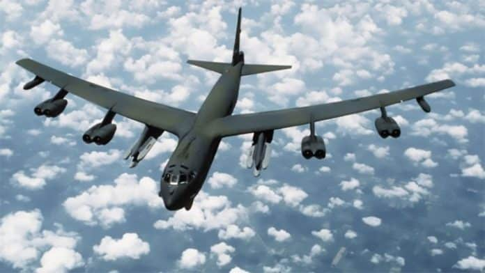 b-52 Baltic sea