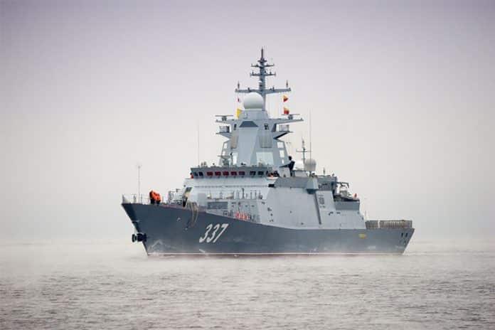 Gremyashchiy-class corvette